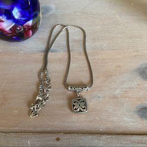 Brighton Silver Tone Necklace